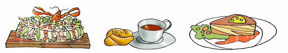 Cafe-teckning